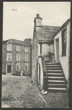 Postcard Dent village nr Kirkby Lonsdale Cumbria the George and Dragon Hotel