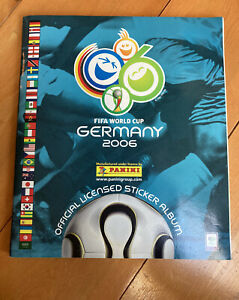 Germany 2006 Panini Sticker Album. 100% Complete With Upda. VGC. *No Writing!*