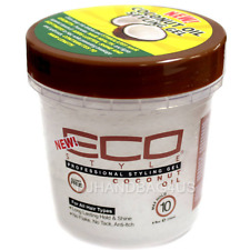 ECO Styler Professional Styling Gel, Coconut Oil, Max Hold 8 oz (Pack of 2)