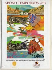 Tauromaquia Plaza Toros de Sevilla Temporada 2017 (DJ-269)