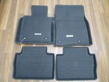 2020 2021 Mazda Cx-30 All Weather Floor Mats - High Wall (set of 4) Dgj2V0350 (Fits: Mazda)