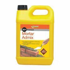 2X 5Litre Everbuild 201 Mortar Admix Brick/Block Work Stops Cracks Plasticiser