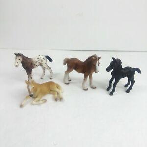 Schleich Baby horses lot Of 4 Foal foals