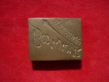PLAQUE - NEGATIF D'IMPRIMERIE :  MONTBELIARD BONAMOUR