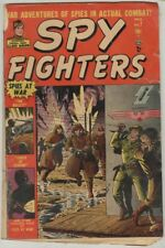 Spy Fighters #7 March 1952 FR