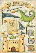 Karen Foster Design Cardstock Scrapbook Stickers - My Brave Knight