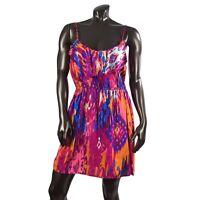 JBS Womens Plus Size Multi Color Snakeskin Pattern Caftan Dress 20W 22W 24W 26W