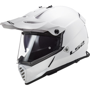 LS2 MX436 PIONEER EVO OFF ROAD QUAD MOTORCYCLE CRASH HELMET WHITE X-SMALL