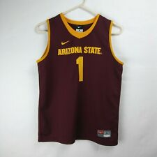NIKE Arizona State Sun Devils ASU Basketball Jersey #1 NCAA Youth Size Large