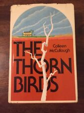 THE THORN BIRDS  Colleen McCullough 1977  Hardcover  Dust Jacket   First Edition