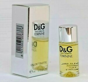 FEMININE von Dolce & Gabbana 4 ml edt OVP