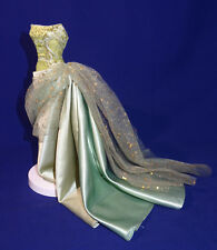 Barbie tenue robe broderie, tulle & satin vert Exotic Beauty 2002 Outfit