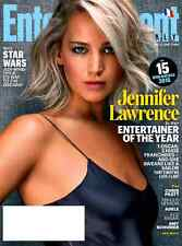 Entertainment Weekly December 4, 2015 JENNIFER LAWRENCE, Chris Pratt, Adele NEW