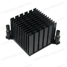 38mm 38x38x30MM Black Aluminum Northbridge Heatsink with Thermal compound