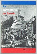La Révolution en Savoie - Yves Tyl - Histoire en Savoie - 1989