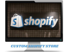 I Will Build A Custom Starter Shopify Dropshipping Store/Website - Ready in 1-2