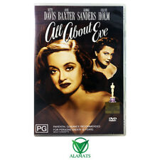 All About Eve (DVD) Bette Davis - Anne Baxter - George Sanders - 1950s Drama