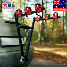 "3 Bicycle Bike Rack Bike Car Van Rear Carrier 2"" Tow Ball Mount"