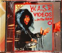 W.A.S.P. WASP Videos...In The Raw 1988 Rare DVD Kiss Motley Crue FREE SHIPPING