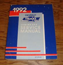 Original 1992 Chevrolet Lumina APV Shop Service Manual 92 Chevy