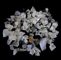 100%Natural Small Blue Rainbow Moonstone Wholesale Lot Loose Gemstone