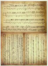 Impreso translucent/vellum Papel Scrapbook A/4 nota