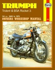 Triumph 1973 Repair Motorcycle Manuals and Literature