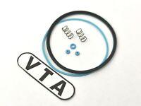 "VTA BLUE Hvy DUTY Gaskets/SEALS fr SEIKO 6139-6009 ""POGUE"" + Cry SEAL + SPRINGS"