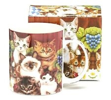 New Burton & Burton Mug Kittens for Everyone, Cat Lover, Cat Crazy Gift Boxed