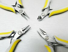 Lindstrom EX Pliers Set of 4 Flat 7490 Round 7590 Chain 7893 and 8141 Cutter
