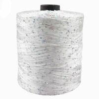 700m 100g/ball Mercerized Yarn Summer Ice Silk Special Sequin Diy Hand Woven Rag