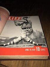 VINTAGE APRIL 25 1938 LIFE Magazine BROOKLYN DODGERS  BASEBALL COVER