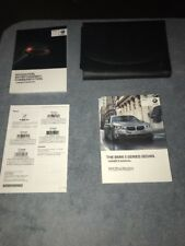2014/2015 BMW 5 Series Owner's Manual Set W/ Factory Case – Used