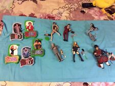 Austin Powers Action Figure Large Lot 6 inch figures and accessories loose