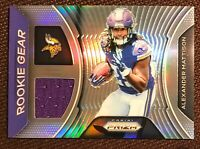 2019 PANINI PRIZM ROOKIE GEAR ALEXANDER MATTISON PATCH #RG-AM MINNESOTA VIKINGS