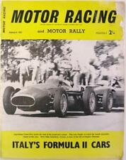 March Motor Racing Monthly Sports Magazines