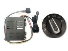 Lichtsensor Automatiklicht + Lichtschalter CHROM Tunnellicht Polo 9N 9N3