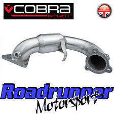 "Cobra MEGANE rs250 & rs265 Cup Sports Cat Downpipe 3"" Exhaust Stainless rn12"