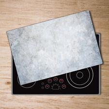 Glas-Herdabdeckplatte Ceranfeldabdeckung 2x40x52 Zweiteilig Abstrakte Welle