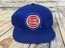 New Old Stock DETROIT PISTONS Snapback Baseball Hat G Cap