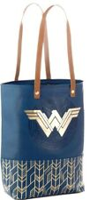 DC Comics Wonder Woman Premium Tote Bag New With Tags Authentic Vegan Leather