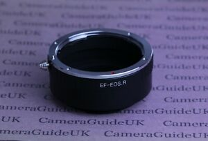 EOS R/RF Mount Adapter Ring For Canon EF/EF-S Lens to Canon EOS R3 EOS R EOS R5