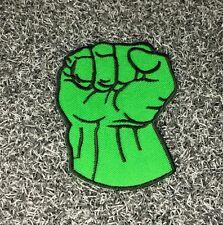 HULK HAND MARVEL SUPER HERO CARTOON MOVIE Embroidered Patch Iron Sew Logo Emblem