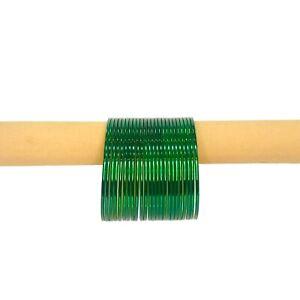 24 Green Shiny bangle churi, Indian bangles, Pakistani bangles,