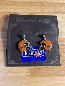 Vintage Earrings Cleveland Browns Football Helmets NFL Earrings USA made gift