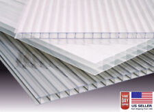 (PACK OF 10 panels)  24''x 72''x 8mm (5/16) POLYCARBONATE CLEAR SHEETS