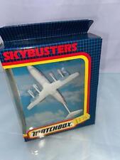 Matchbox Skybusters SB38 BAe 146 Dan Air Airplane Jet Boxed 1992
