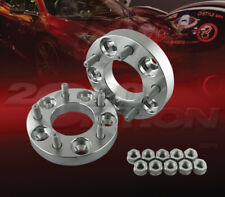 """2pcs 25mm (1"""") Thick 5x114.3 to 5x114.3 Wheel Adapters Spacers M12x1.5 Studs"""