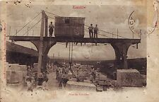 France Euville - Vue des Carrieres 1912 used sepia postcard