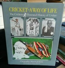 More details for cricket: a way of life - christopher martin-jenkins (1984 1st signed)